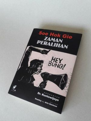 Ilustrasi buku Zaman Peralihan, Soe Hok Gie. FOTO: bukalapak.com