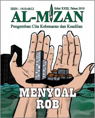 Majalah Al-Mizan Edisi XXIII Tahun 2018 Menyoal Rob